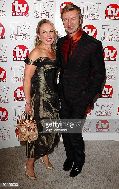 Jayne Torvill and Christopher Dean attend the TV Quick Tv Choice Awards at The Dorchester on September 7 2009 in London England