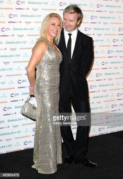 Jayne Torvill and Christopher Dean attends The Emeralds And Ivy Ball at Old Billingsgate Market on November 30 2013 in London England