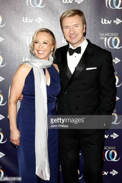 Jayne Torvill and Christopher Dean during a photocall for the new series of Dancing On Ice at the Natural History Museum Ice Rink on December 18,...