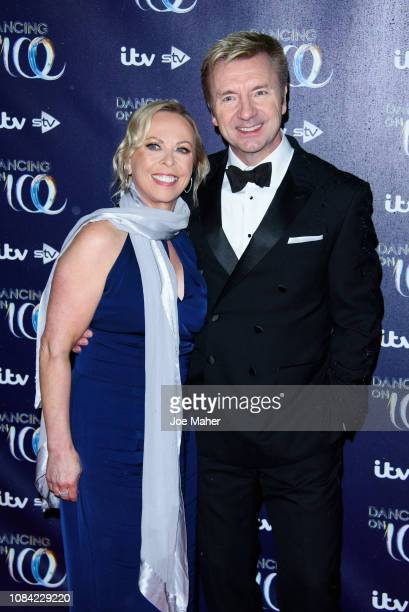 Jayne Torvill and Christopher Dean during the Red Carpet Arrivals for the new series of Dancing On Ice at Natural History Museum Ice Rink on December...