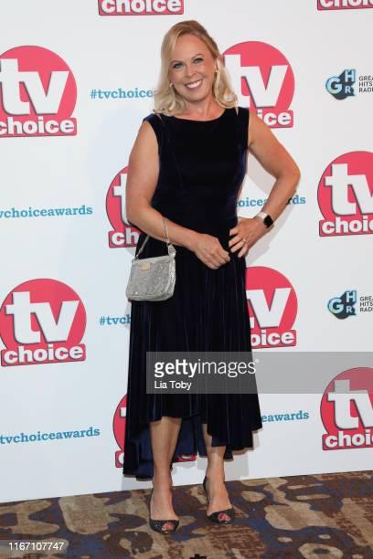 Jayne Torvill attends The TV Choice Awards 2019 at Hilton Park Lane on September 9, 2019 in London, England.