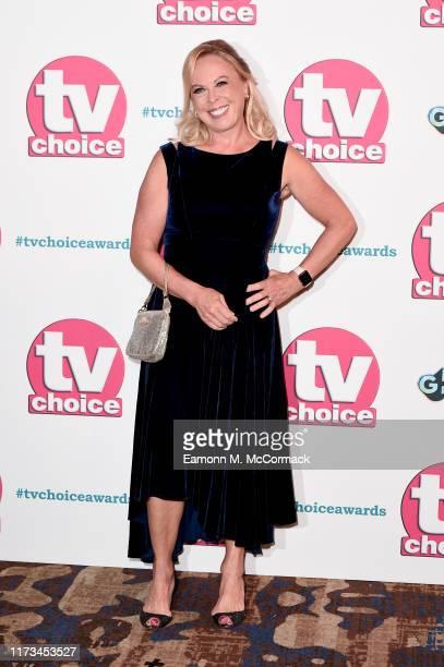 Jayne Torvill attends The TV Choice Awards 2019 at Hilton Park Lane on September 09, 2019 in London, England.