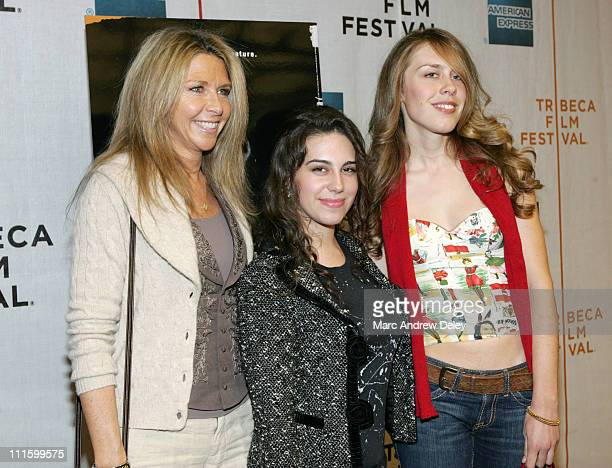 Jayni Chase Caley Chase and Cydney Chase during 6th Annual Tribeca Film Festival Brando Arrivals at Michael Schimmel Center for the Arts at Pace...