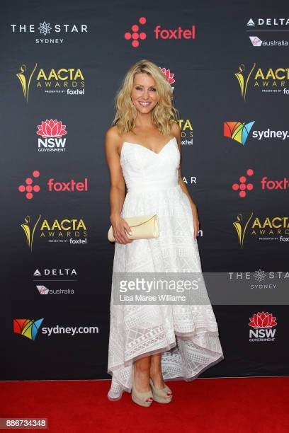 Jaynie Seal attends the 7th AACTA Awards Presented by Foxtel | Ceremony at The Star on December 6 2017 in Sydney Australia