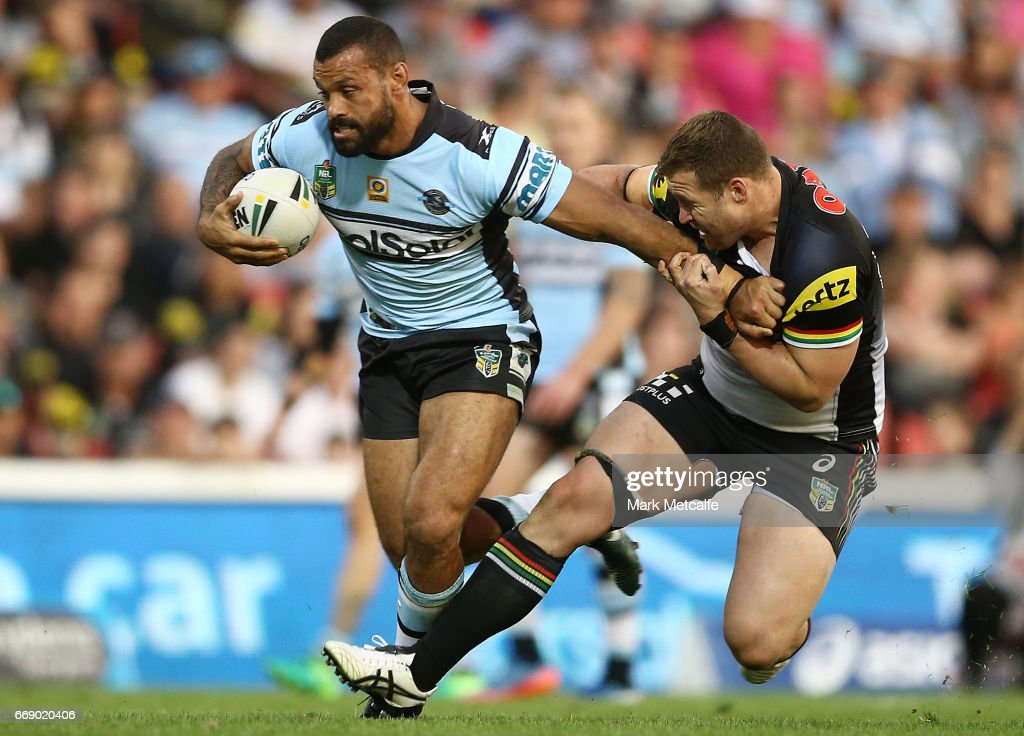 NRL Rd 7 - Panthers v Sharks