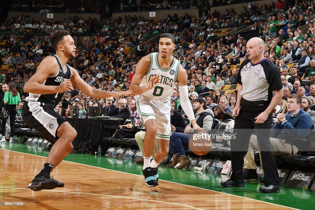 San Antonio Spurs v Boston Celtics