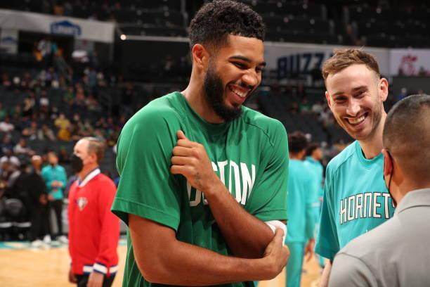 NC: Boston Celtics v Charlotte Hornets