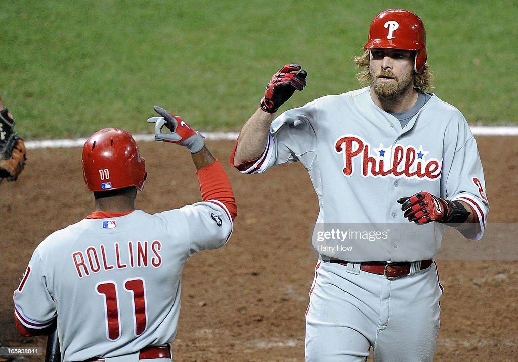 Philadelphia Phillies v San Francisco Giants, Game 5 : News Photo