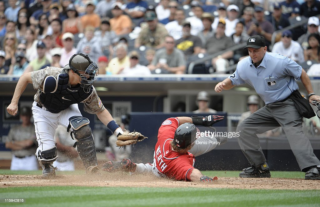 Washington Nationals  v San Diego Padres : News Photo