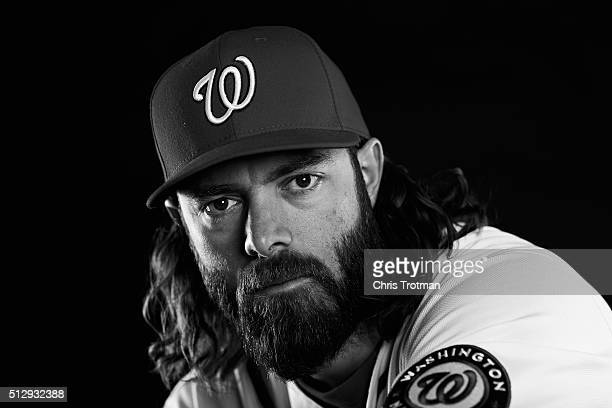 Jayson Werth of the Washington Nationals poses for a portrait at Spring Training photo day at Space Coast Stadium on February 28 2016 in Viera Florida