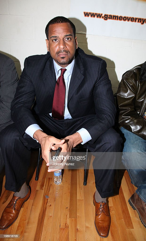 Jayson Williams attends the 2012 High School Basketball Showcase at Bedford Academy on November 24, 2012 in the Brooklyn borough of New York City.