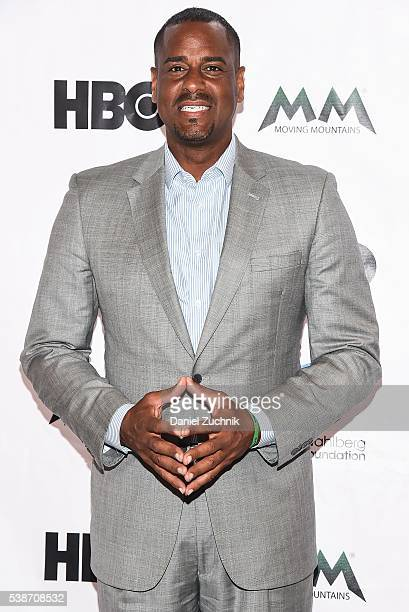 Jayson Williams attends the Moving Mountains For The Arts Award Gala at 26 Bridge Street on June 7 2016 in New York City