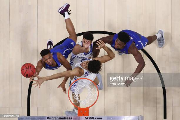 Jayvon Graves of the Buffalo Bulls shoots the ball against the Kentucky Wildcats in the second round of the 2018 NCAA Men's Basketball Tournament at...