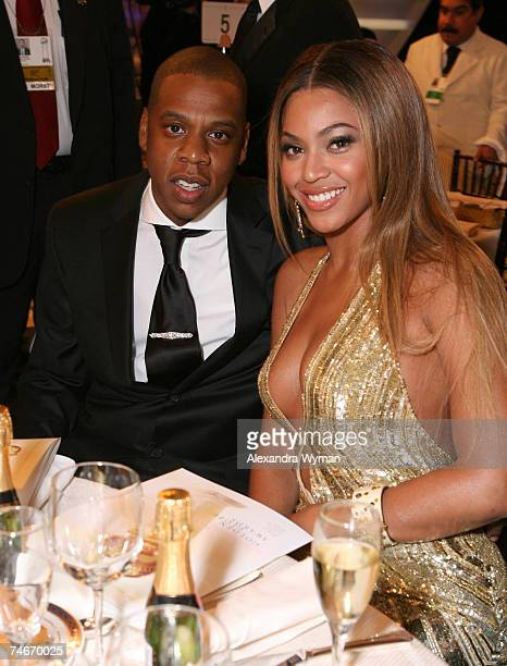 JayZ and Beyonce at the Beverly Hilton in Beverly Hills California