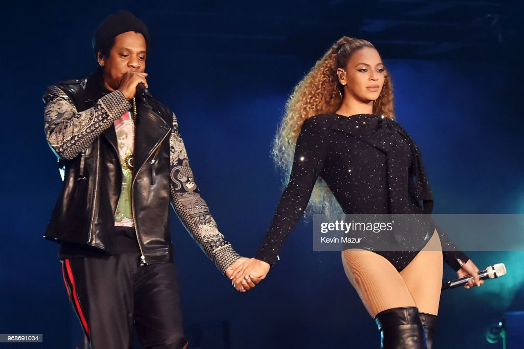"Beyonce and Jay-Z ""On the Run II"" Tour Opener - Cardiff : Foto jornalística"