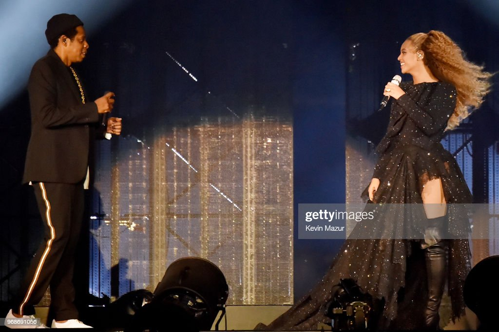 "Beyonce and Jay-Z ""On the Run II"" Tour Opener - Cardiff : News Photo"