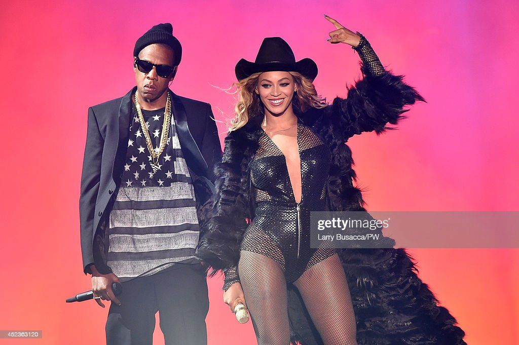 """""""On The Run Tour: Beyonce And Jay-Z"""" - Houston : News Photo"""