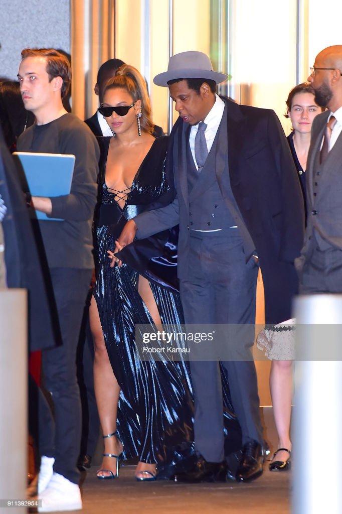 Celebrity Sightings in New York City - January 27, 2018 : News Photo