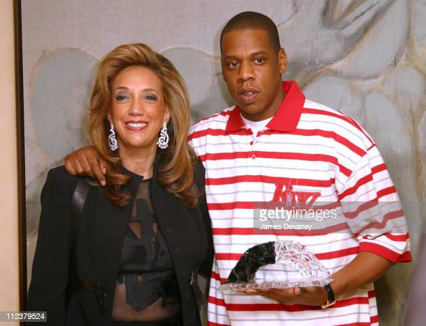 JayZ and Denise Rich during The Foundation for Ethnic Understanding Honors JayZ and Barry Weiss of Jive Records at Home of Denise Rich in New York...