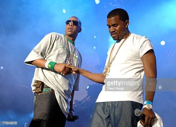 JayZ and Kanye West