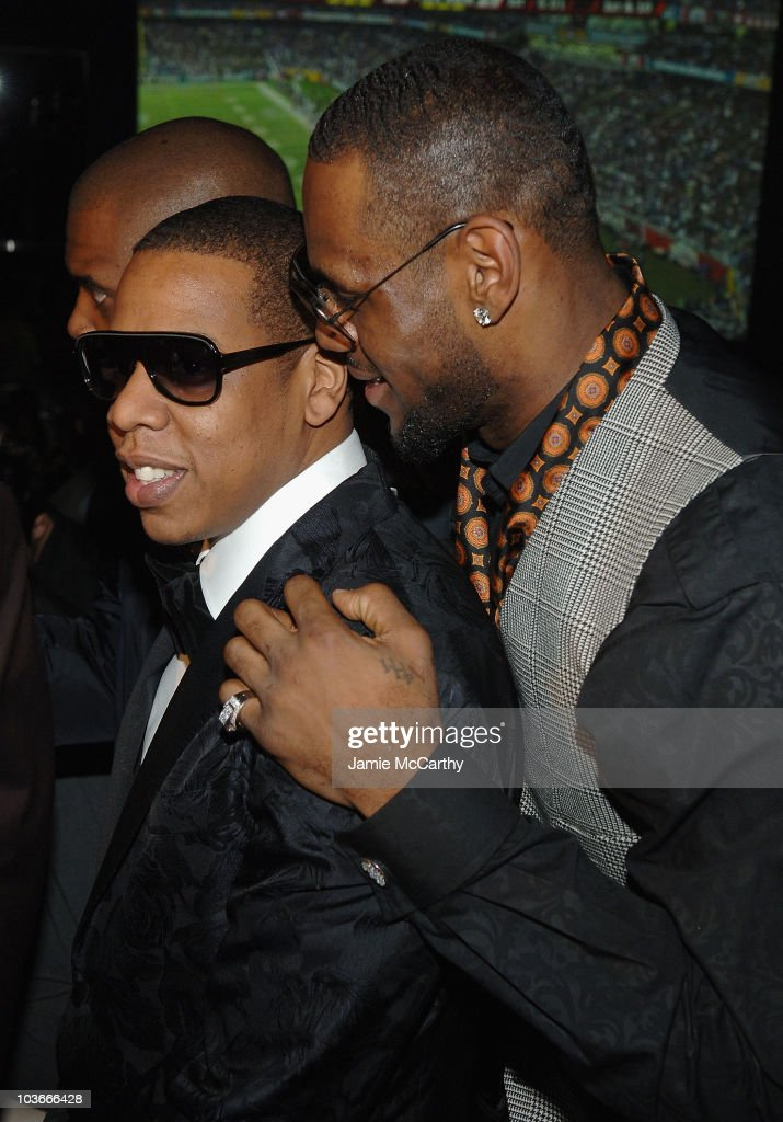 Jay-Z and LeBron James attend The Grand Opening of Jay-Z's 40/40 Club At The Palazzo Hotel Las Vegas December 30, 2007