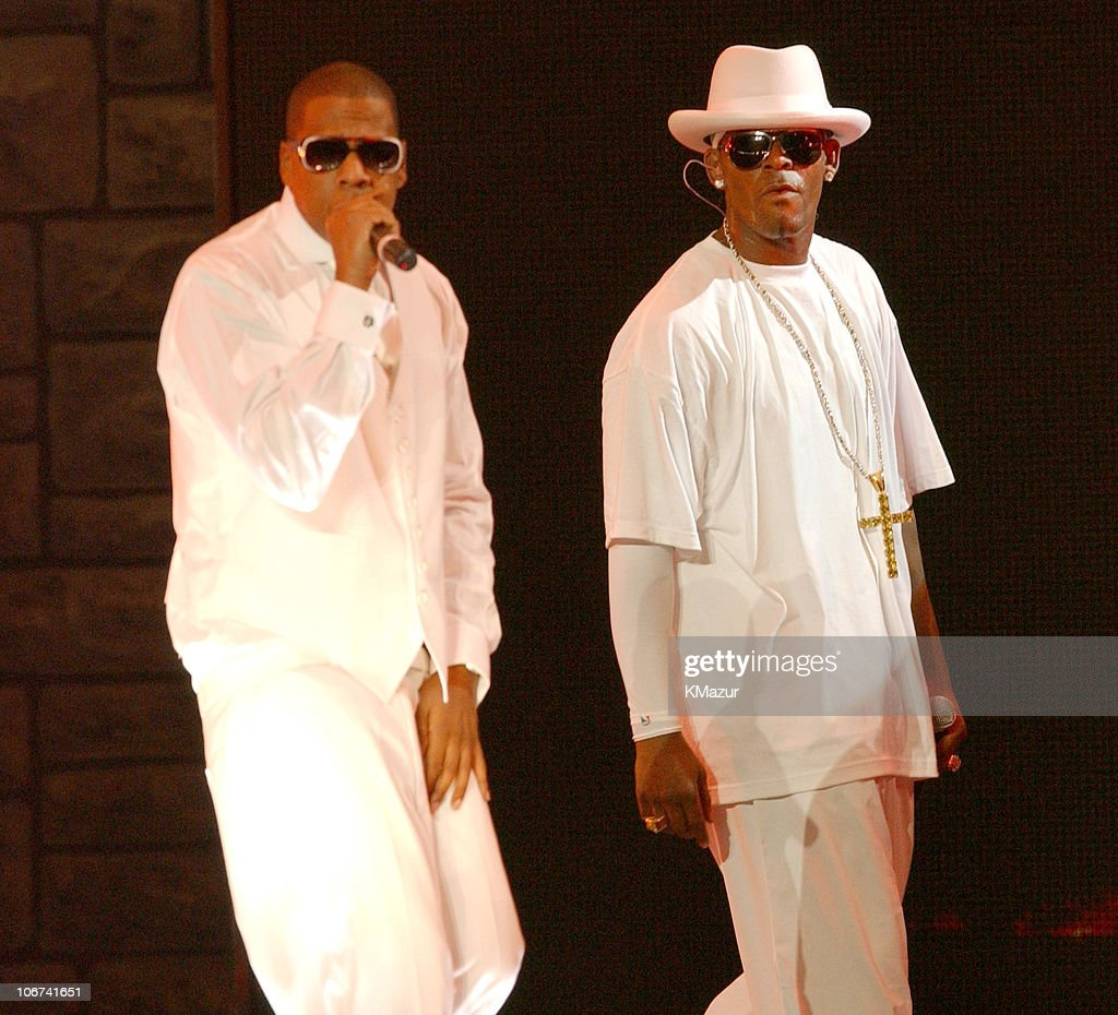 jay z and r kelly live at madison square garden best of both  jay z and r kelly during jay z and r kelly live at