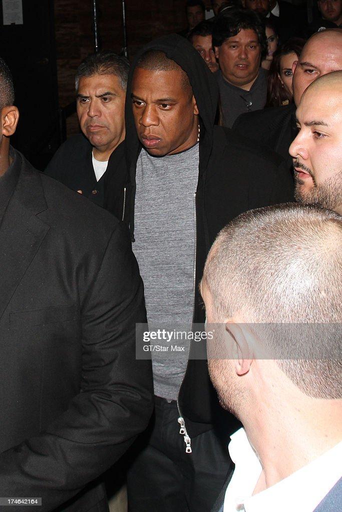 Jay-Z as seen on July 27, 2013 in Los Angeles, California.