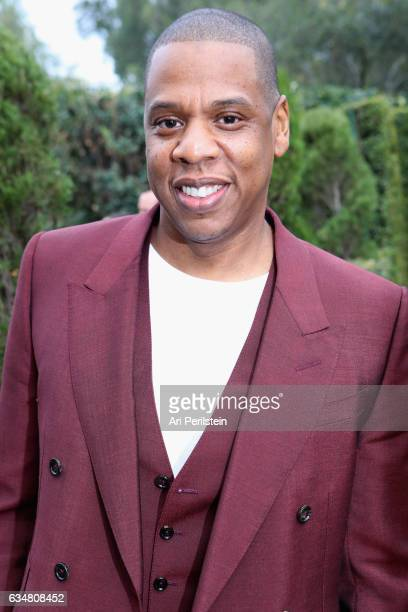 JayZ attends 2017 Roc Nation PreGrammy Brunch at Owlwood Estate on February 11 2017 in Los Angeles California