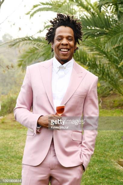 JayZ attends 2020 Roc Nation THE BRUNCH on January 25 2020 in Los Angeles California