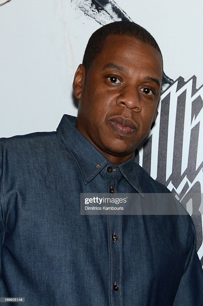 Jay-Z attends the 10th anniversary party of Billionaire Boys Club presented by HTC at Tribeca Canvas on June 4, 2013 in New York City.