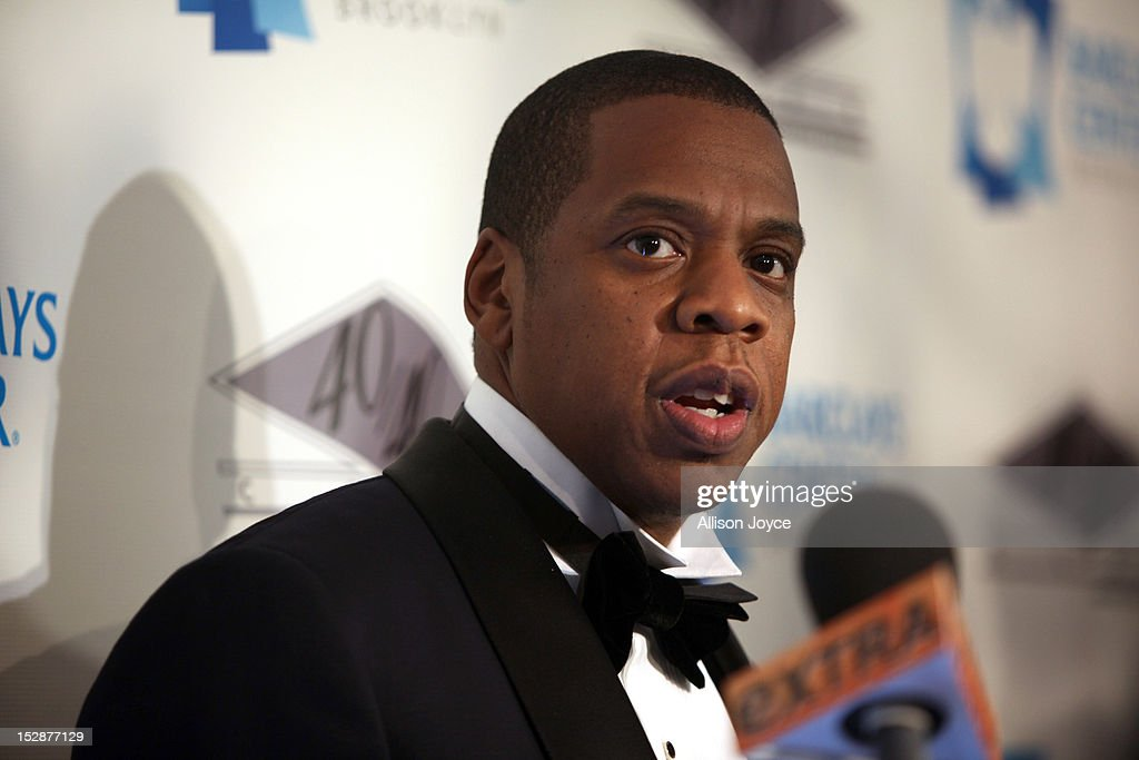 Jay-Z attends the grand opening of the 40/40 Club at Barclays Center on September 27, 2012 in the Brooklyn borough of New York City.