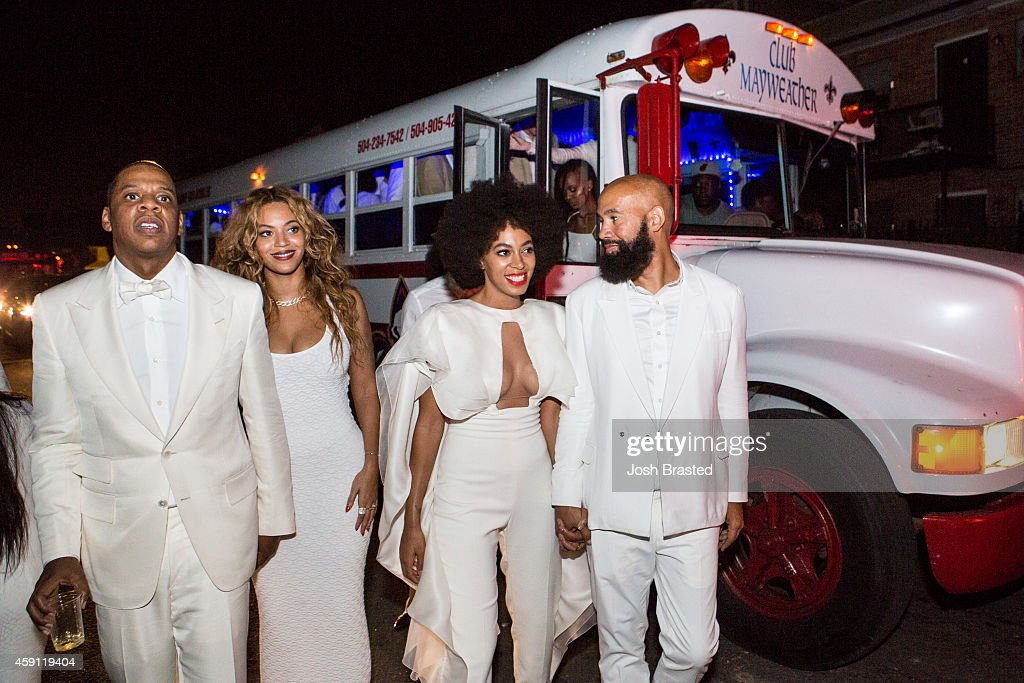 Solange Knowles Marries Alan Ferguson - Second Line And After Party : News Photo