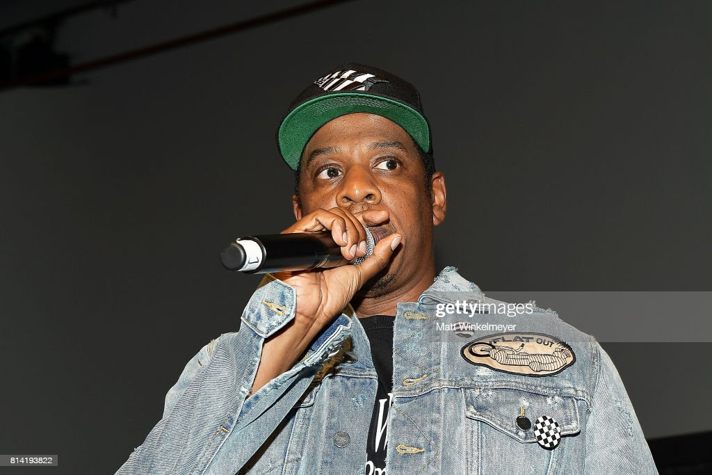 Jay-Z Introduces Vic Mensa At Mack Sennett Studios : News Photo