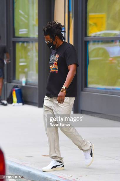 Jay-Z is seen on September 17, 2020 in New York City.