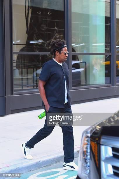 Jay-Z is seen on September 18, 2020 in New York City.
