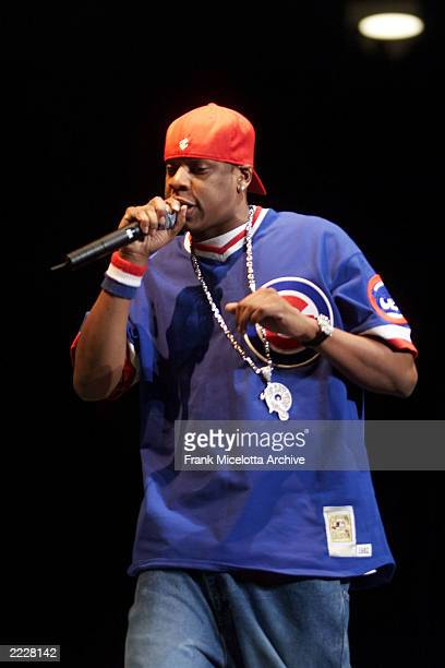 JayZ performing on the Z100 Jingle Ball 2001 at Madison Square Garden in New York City Thursday December 13 2001 Photo by Frank Micelotta/ImageDirect
