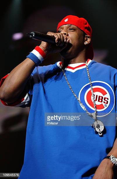 JayZ performs at Z100 Jingle Ball 2001 during Z100 Jingle Ball Show December 13 2001 at Madison Square Garden in New York City New York United States