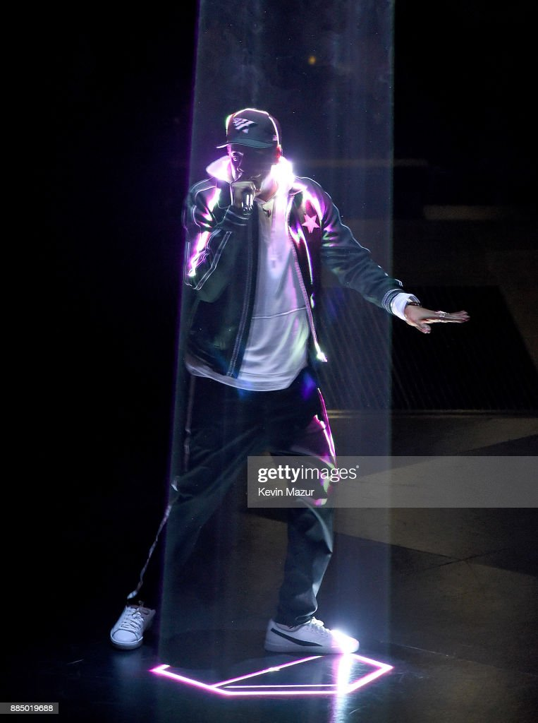 Jay-Z performs during his '4:44 Tour' at Nassau Veterans Memorial Coliseum on December 2, 2017 in Uniondale, New York.