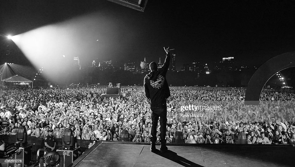Jay-Z performs onstage at the 2014 Global Citizen Festival to end extreme poverty by 2030 at Central Park on September 27, 2014 in New York City.