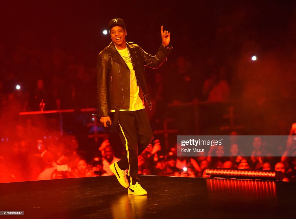 44 tour at Barclays Center of Brooklyn on November 26, 2017 in New York City.