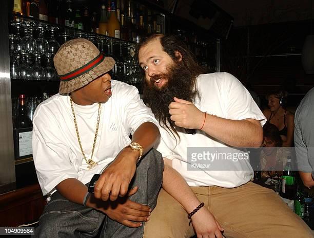 JayZ Rick Rubin during Def Jam Party Lyor Cohen and Russell Simmons Reunite with Def Jam's Original CoFounder Rick Rubin at B Bar in New York City...