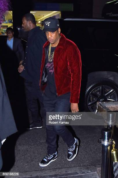 JayZ seen at Tao Restaurant for SNL after party on September 30 2017 in New York City