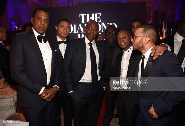 JayZ Trevor Noah Dave Chappelle Tyran 'Tata' Smith and Richie Akiva attend Rihanna's 3rd Annual Diamond Ball Benefitting The Clara Lionel Foundation...