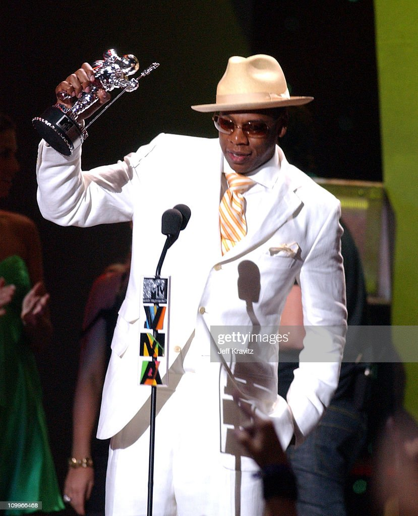 Jay-Z, winner of Best Rap Video for 99 Problems during 2004 MTV Video Music Awards - Show at American Airlines Arena in Miami, Florida, United States.