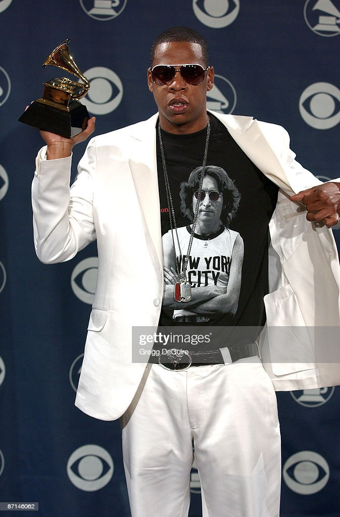 Jay-Z, winner of Best Rap/Sung Collaboration for 'Numb