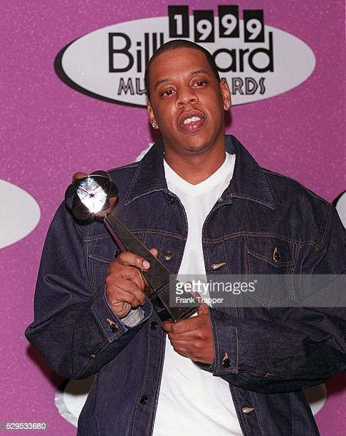 JayZ with his award