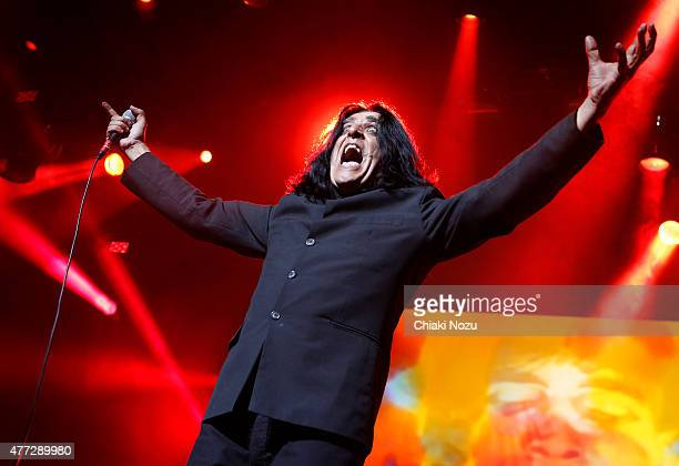Jaz Coleman of Killing Joke performs at the Metal Hammer Golden Gods awards on June 15 2015 in London England