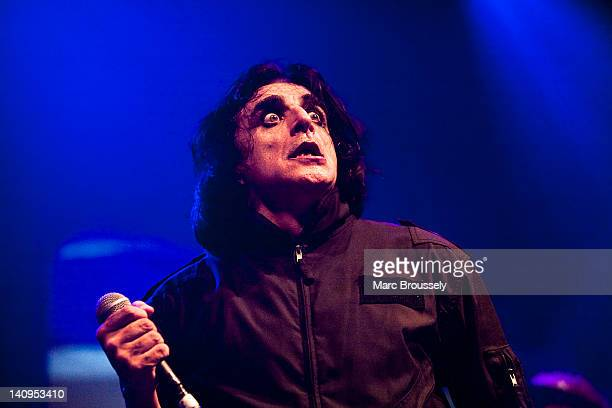 Jaz Coleman of Killing Joke performs on stage at The Roundhouse on March 8 2012 in London United Kingdom