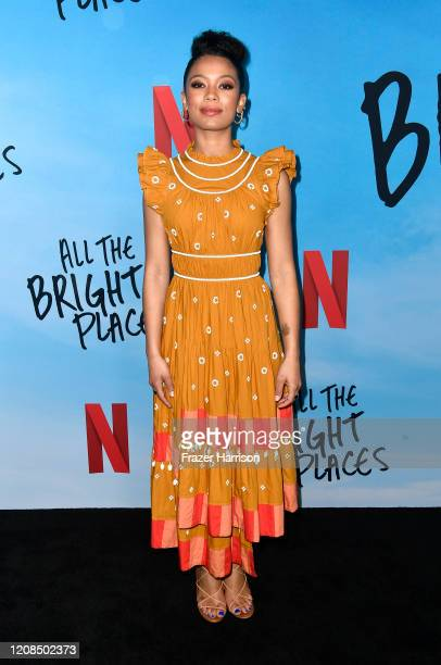 Jaz Sinclair attends a Special Screening Of Netflix's All The Bright Places at ArcLight Hollywood on February 24 2020 in Hollywood California