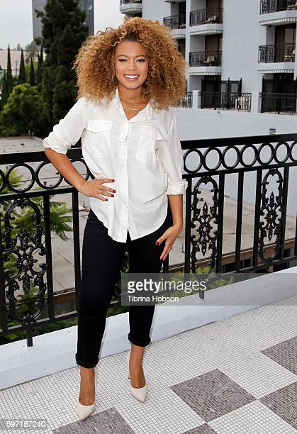 Jaz Sinclair attends the photo call for 'When The Bough Breaks' at The London Hotel on August 27 2016 in West Hollywood California